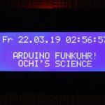 Arduino Funkuhr mit Display und DCF77